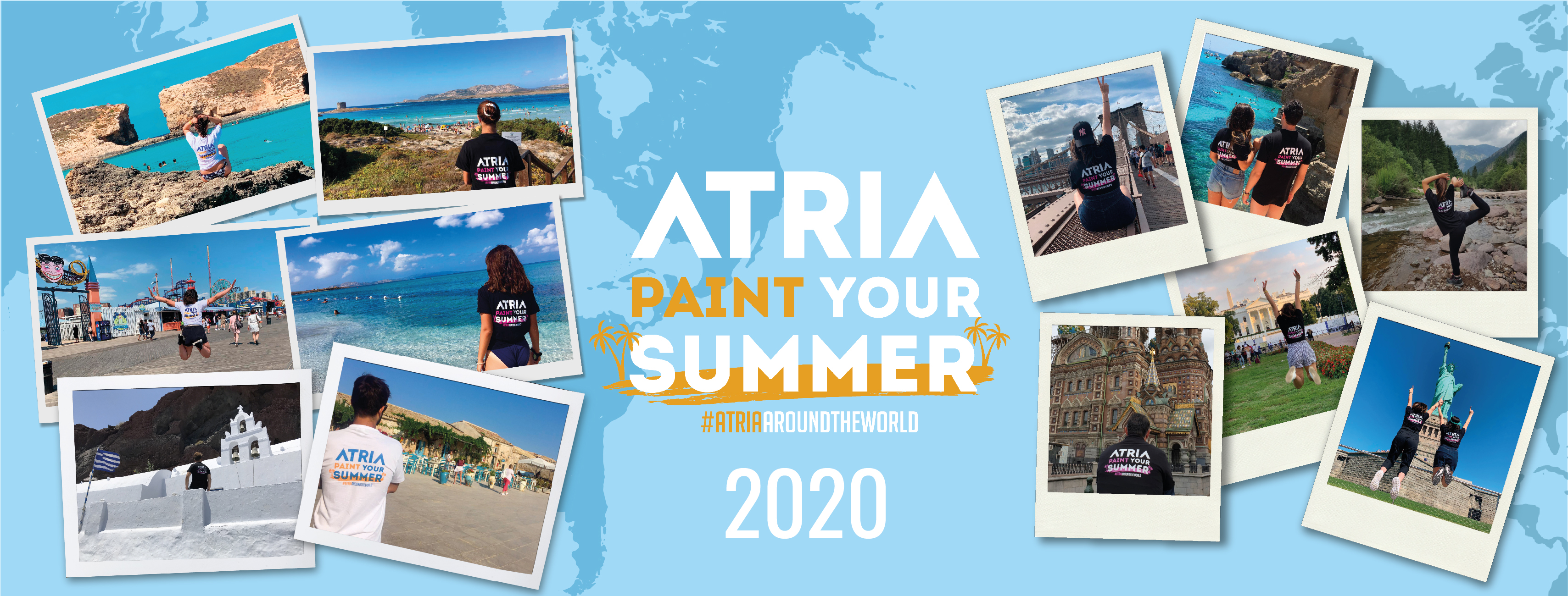 ATRIA - PAINT YOUR SUMMER 2020